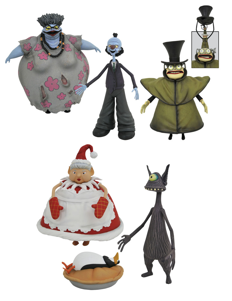 Nightmare Before Christmas Select Series 10 Figure Assortment Westfield Comics The nightmare before christmas is available to stream on disney+. nightmare before christmas select