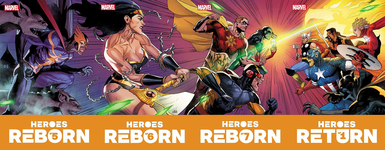 Heroes Reborn #5 - Marvel Comics