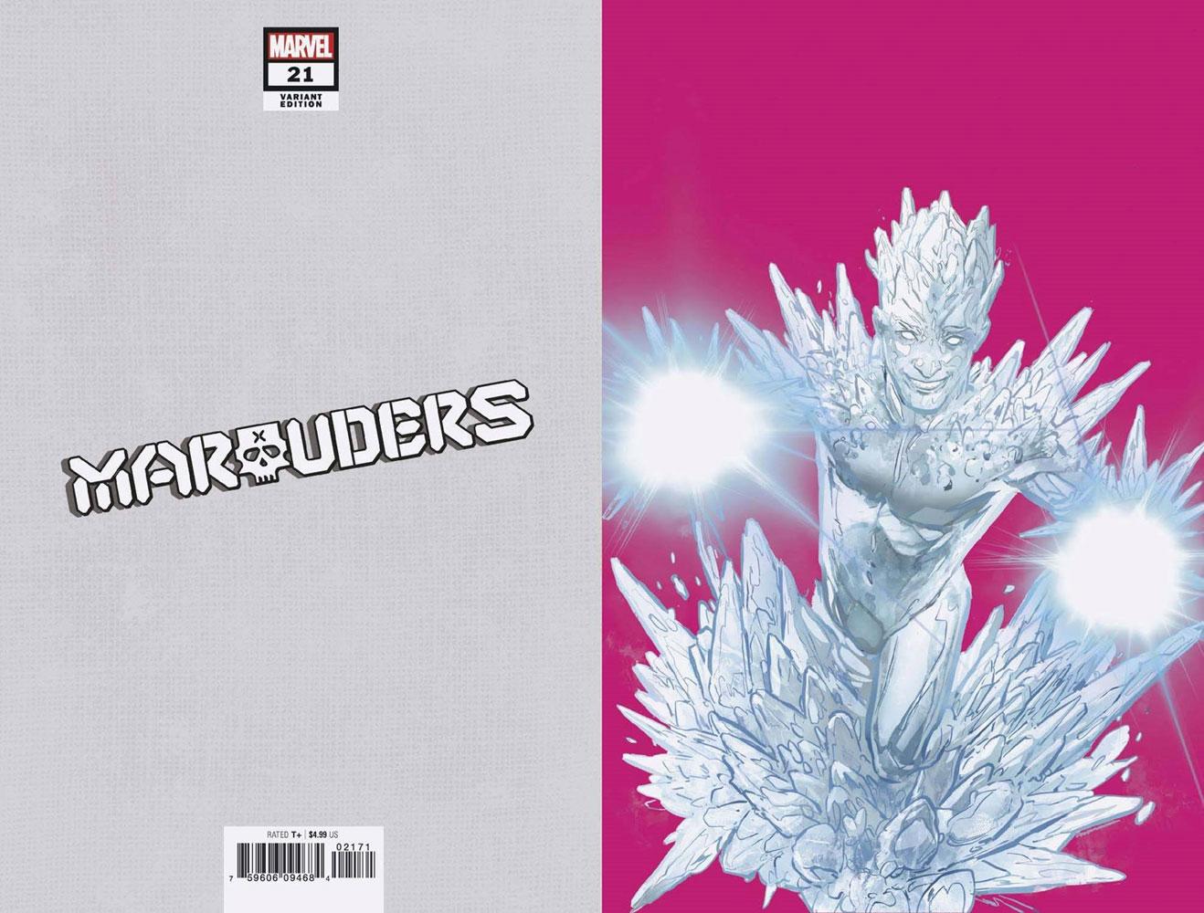 Marauders #21 (Gala) (incentive 1:50 Pride Month cover - Jimenez virgin)  [2021] - Marvel Comics