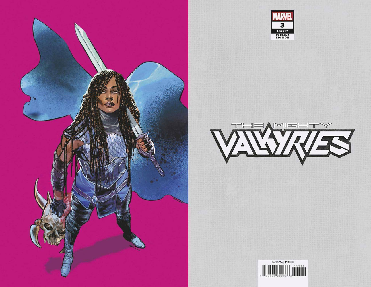 Mighty Valkyries #3 (incentive 1:50 Pride Month cover - Jimenez virgin)  [2021] - Marvel Comics
