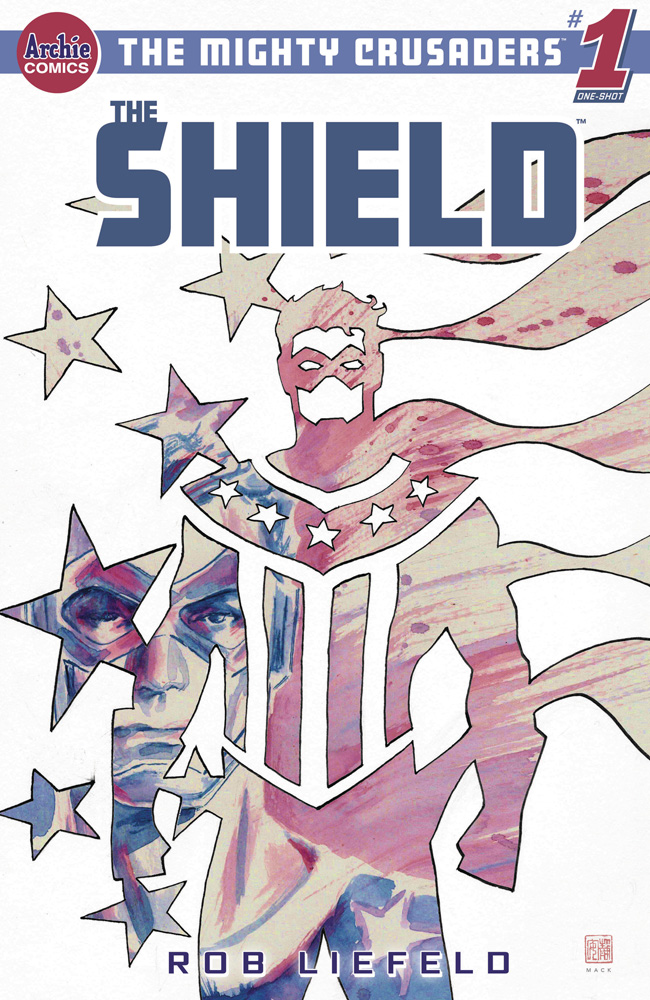 Image: Mighty Crusaders One-Shot: The Shield  (cover D - David Mack) - Archie Comic Publications