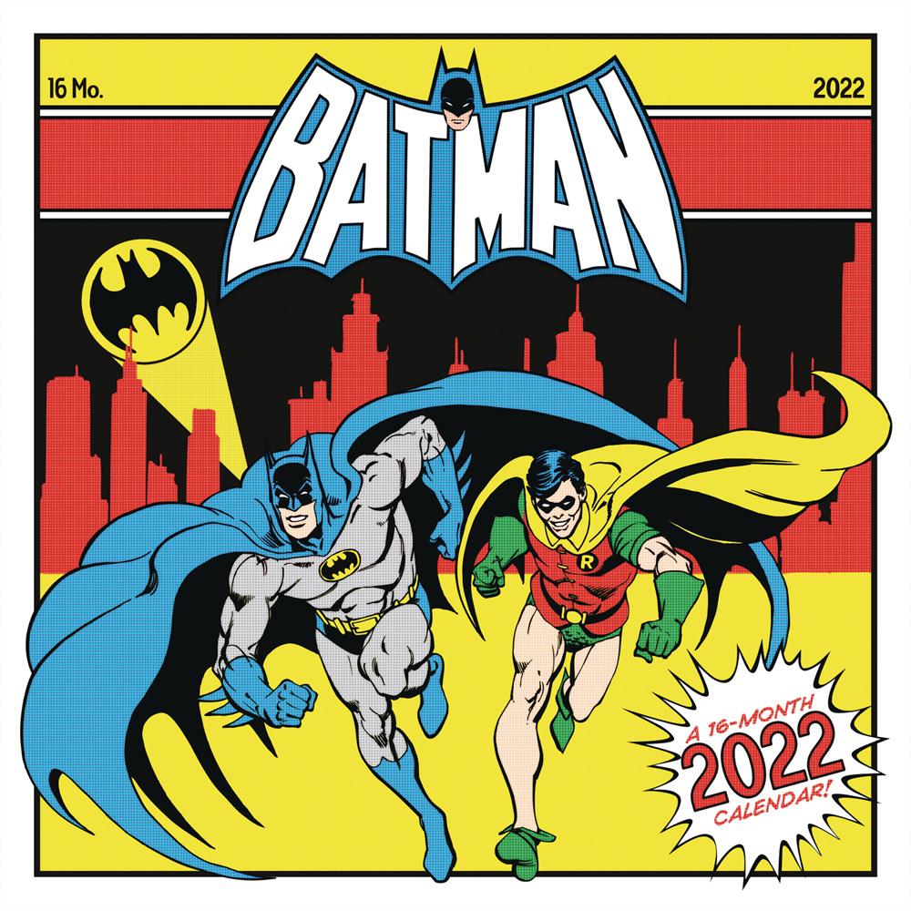 Wow Calendar 2022.Batman 16 Month 2022 Wall Calendar Westfield Comics
