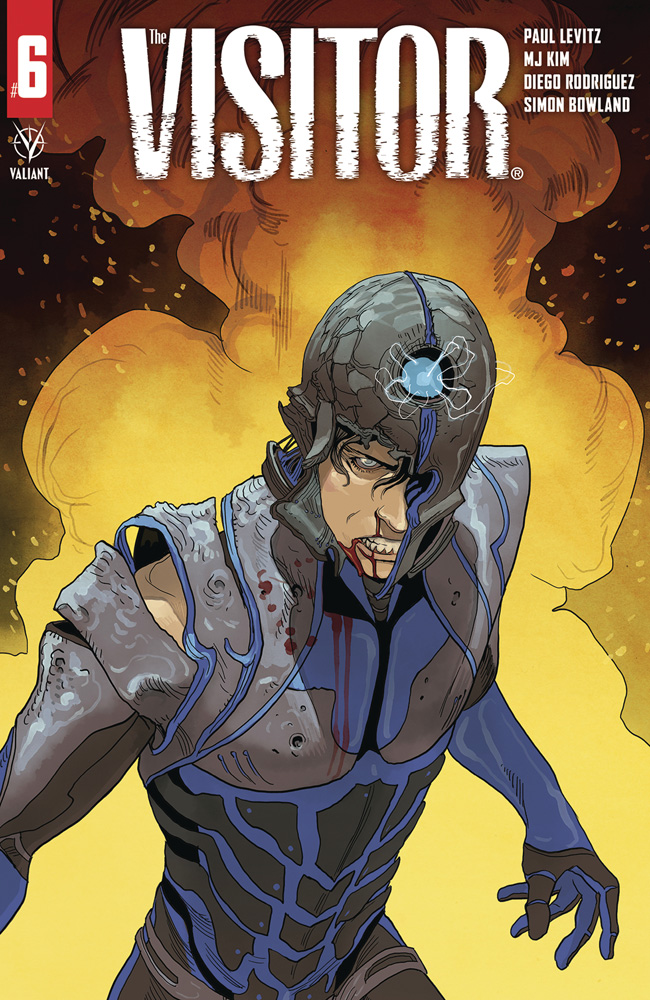 Image: Visitor #6 (cover A - Pinna) - Valiant Entertainment LLC