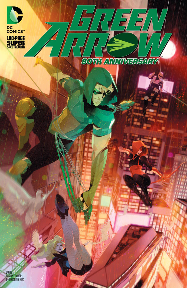 Image: Green Arrow 80th Anniversary 100-Page Super Spectacular #1 (variant 2010s decade cover - Simone Di Meo) - DC Comics
