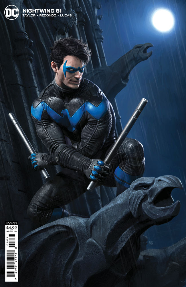 Image: Nightwing #81 (variant card stock cover - Rafael Grassetti) - DC Comics