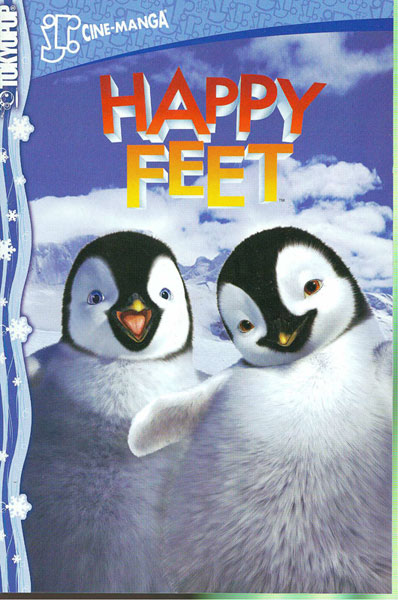 Image: Happy Feet Jr Cinemanga SC  - Tokyopop Cine-Manga