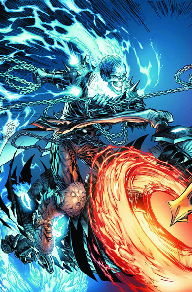 Image: Ghost Rider vs. Ghost Rider Poster  - Marvel Comics