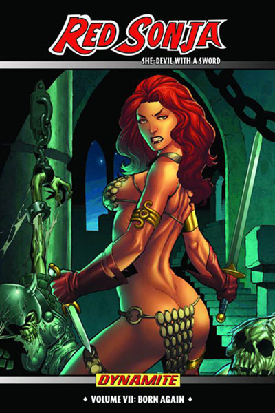 Image: Red Sonja, She-Devil With a Sword Vol. 07: Born Again HC  - Dynamite
