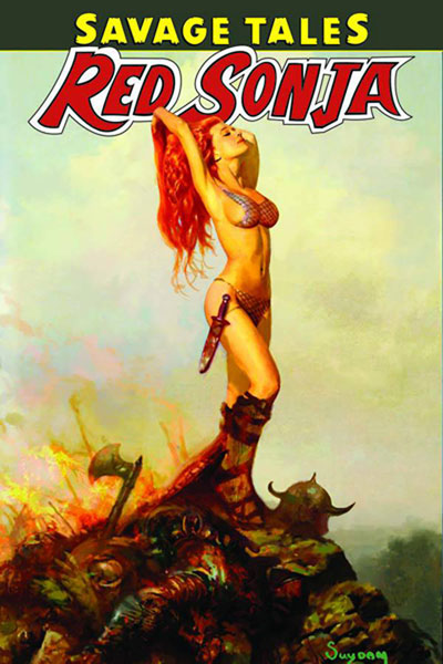 Image: Savage Tales of Red Sonja Vol. 1 SC  - Dynamite