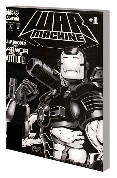 Image: War Machine Classic Vol. 01 SC  - Marvel Comics