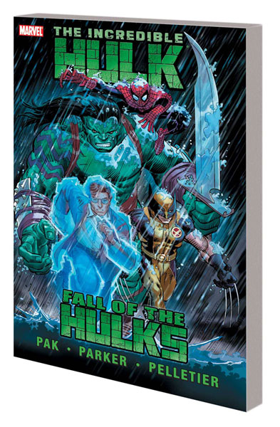 Image: Incredible Hulk Vol. 02: Fall of the Hulks SC  - Marvel Comics
