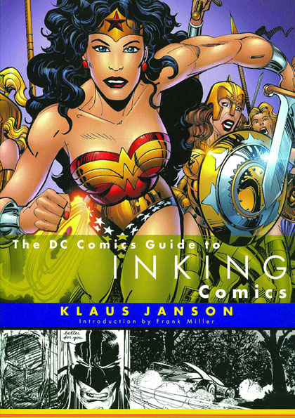 Image: DC Comics Guide to Inking Comics SC  -
