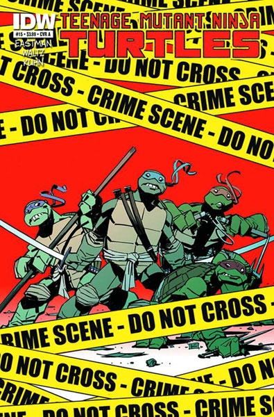 Image: Teenage Mutant Ninja Turtles #15 - IDW Publishing