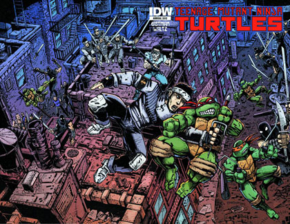 Image: Teenage Mutant Ninja Turtles Annual 2012  - IDW Publishing