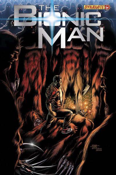 Bionic Man #15 - Dynamite