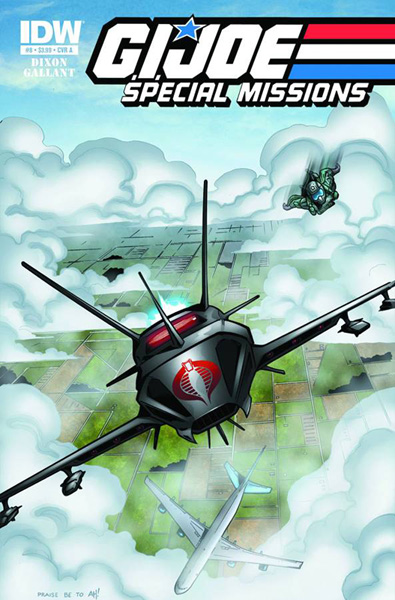 G.I. Joe: Special Missions #8 - IDW Publishing
