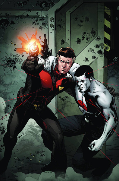 Image: Bloodshot and H.A.R.D. Corps #15 (regular cover - Lupacchino) - Valiant Entertainment LLC