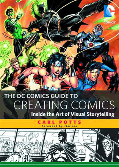 Image: DC Comics Guide to Creating Comics: Inside the Art of Visual Storytelling   - Watson Guptill