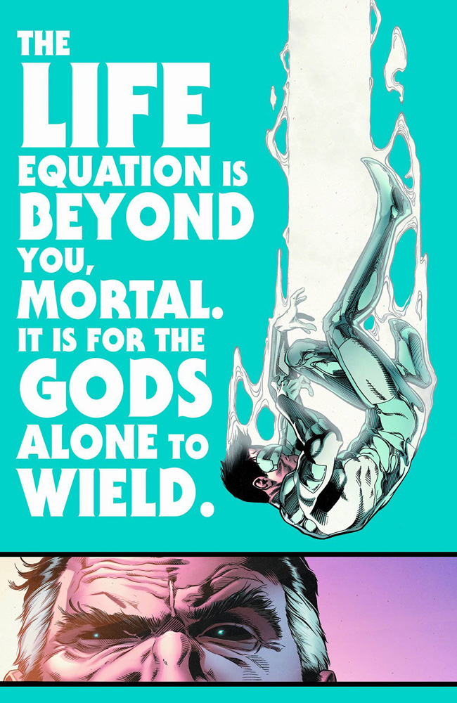 Image: Green Lantern New Guardians #35 (Godhead) - DC Comics