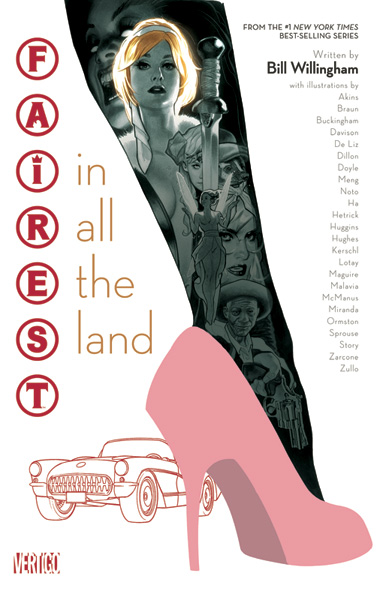 Image: Fairest in All the Land SC  - DC Comics - Vertigo