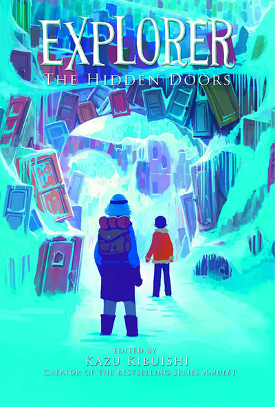 Image: Explorer: The Hidden Doors SC  - Amulet Books