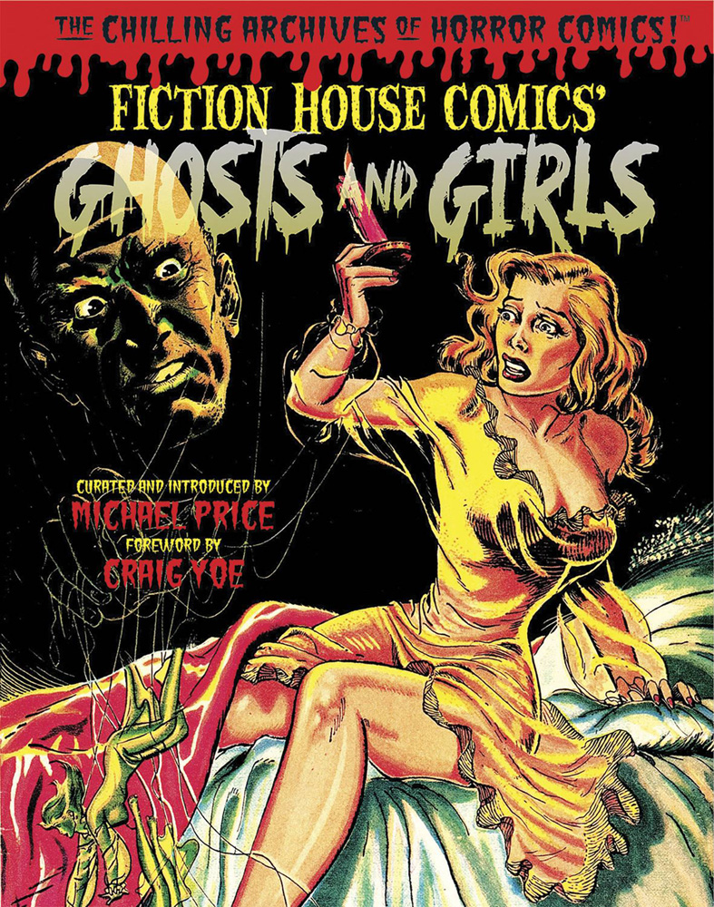 Image: Ghosts and Girls of Fiction House HC  - IDW Publishing