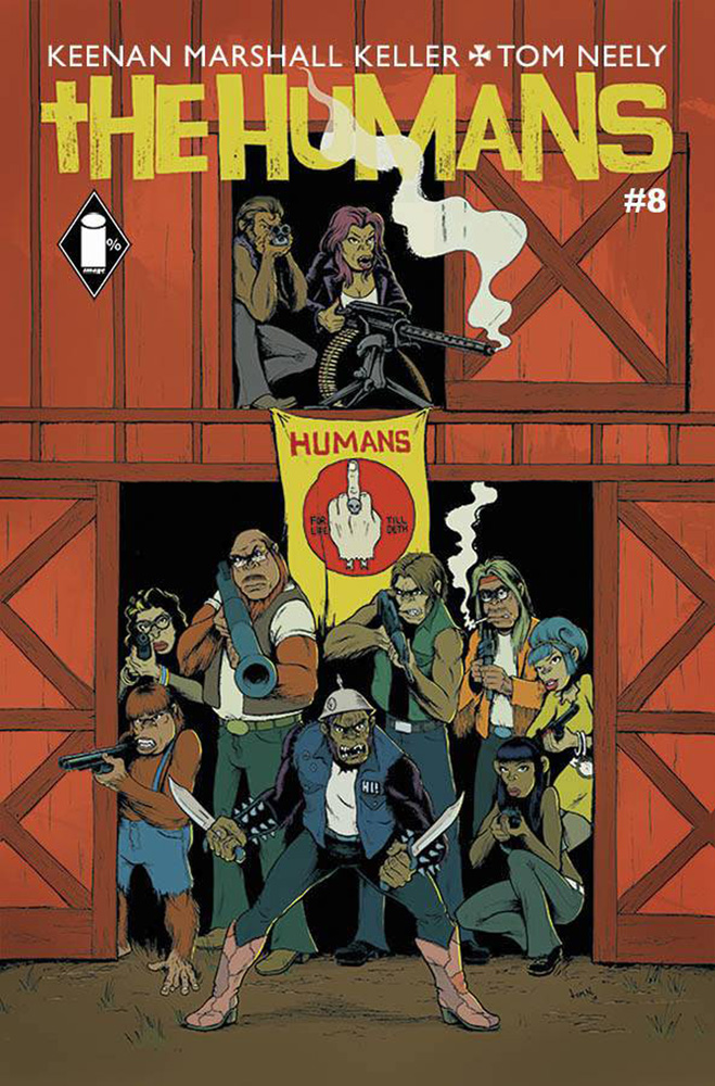 Image: Humans #8 - Image Comics