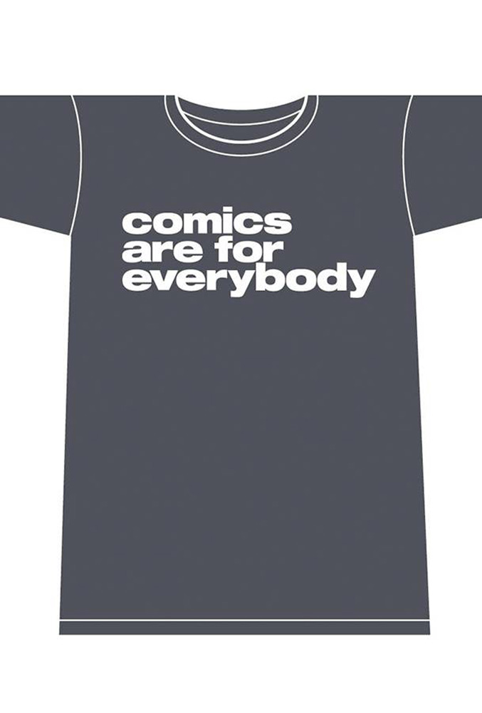 Image: Comics Are for Everybody Women's T-Shirt  (L) - Image Comics