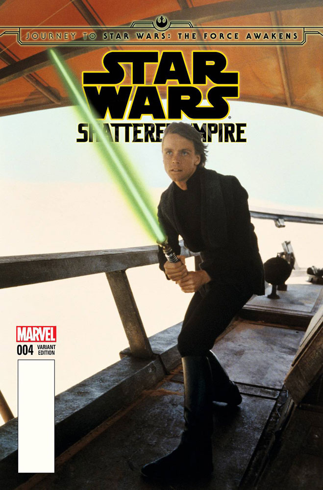 Image: Journey to Star Wars: The Force Awakens - Shattered Empire #4 (Movie photo variant cover - 00431) - Marvel Comics