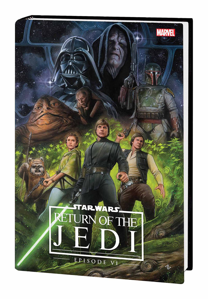 Image: Star Wars: Episode VI - Return of the Jedi HC  - Marvel Comics