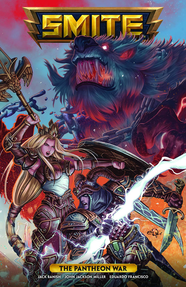Image: Smite: The Pantheon War SC  - Dark Horse Comics