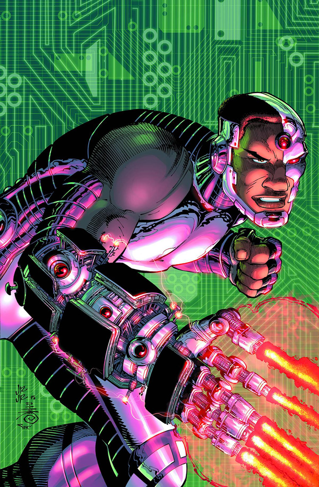 Image: Cyborg Vol. 02: Enemy of the State SC  - DC Comics
