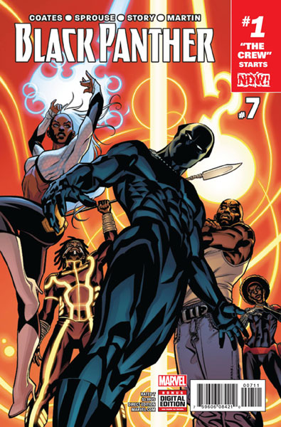 Image: Black Panther #7 (NOW!)  [2016] - Marvel Comics
