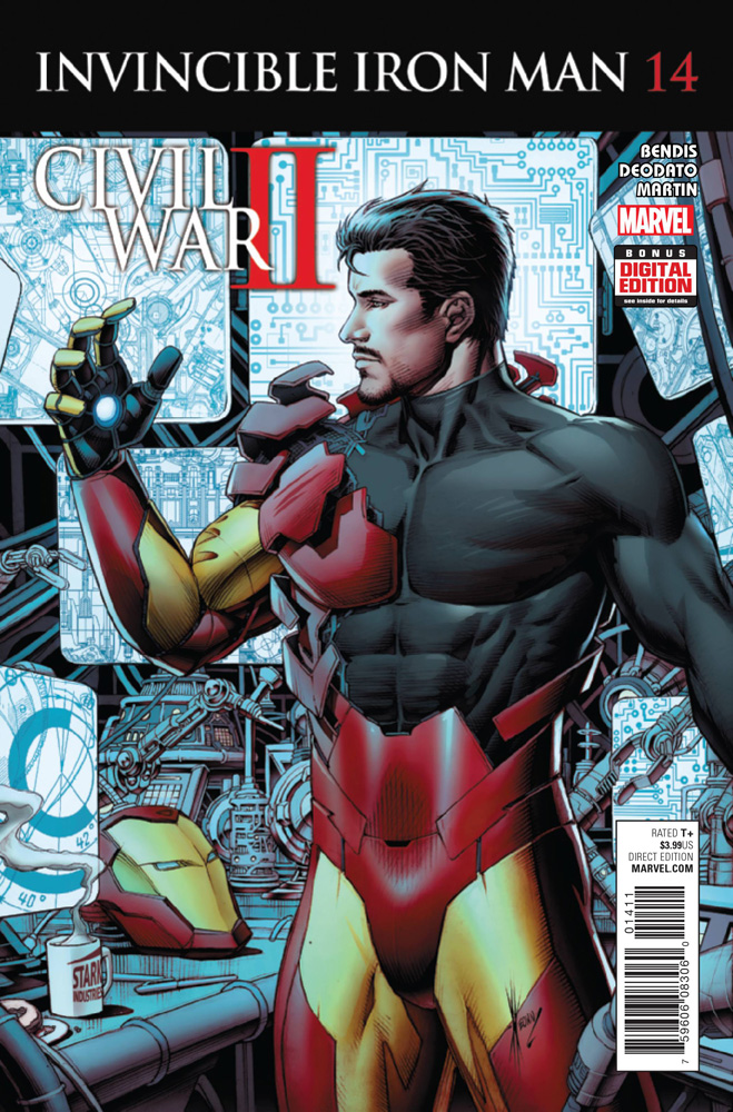 Image: Invincible Iron Man #14  [2016] - Marvel Comics