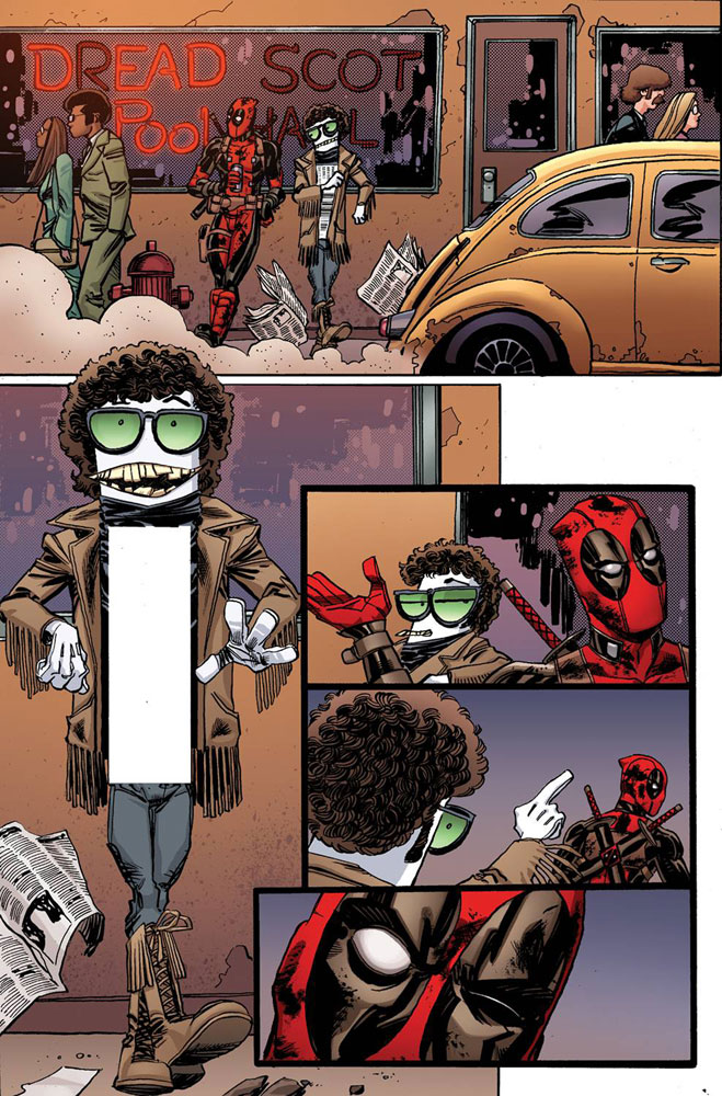 Image: Deadpool [2016] #20 (Koblish Secret Comic variant cover)  [2016] - Marvel Comics