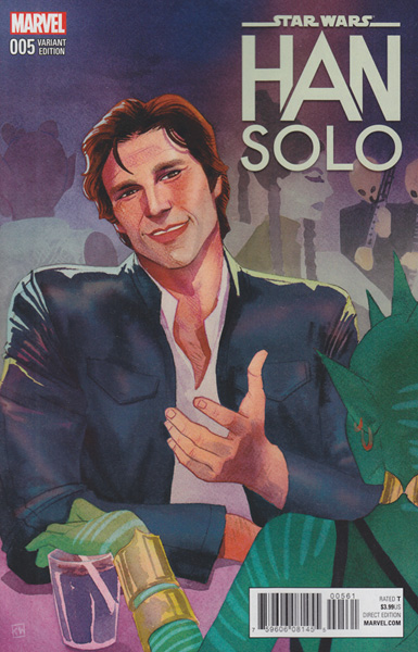 Image: Han Solo #5 (Wada variant cover - 00561)  [2016] - Marvel Comics