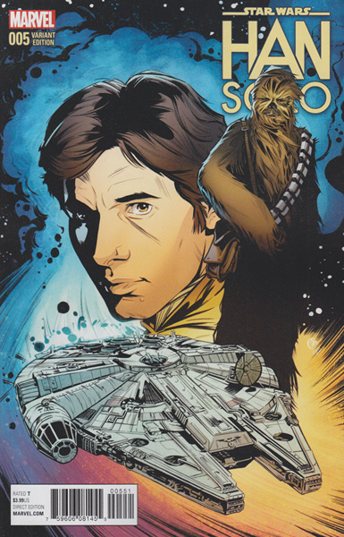Image: Han Solo #5 (Joelle Jones variant cover - 00551)  [2016] - Marvel Comics