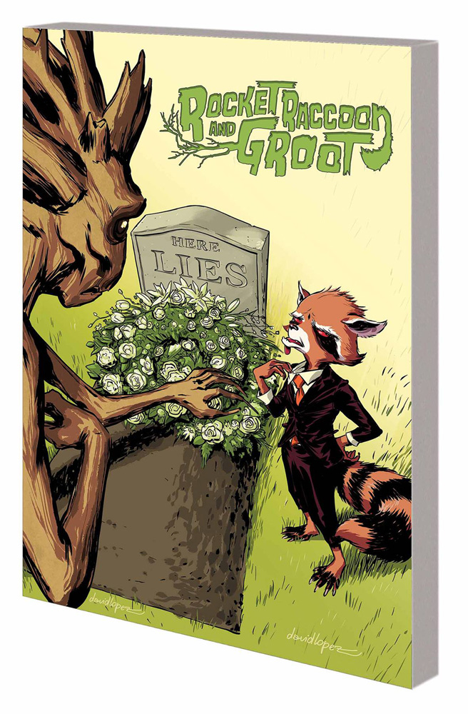 Image: Rocket Raccoon and Groot Vol. 02 SC  - Marvel Comics
