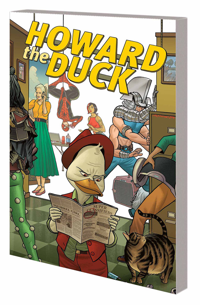Image: Howard the Duck Vol. 02: Good Night, and Good Duck SC  - Marvel Comics