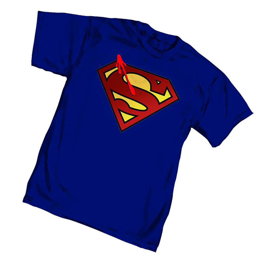 Image: Watchmen T-Shirt: Superman Symbol  (XL) - Graphitti Designs
