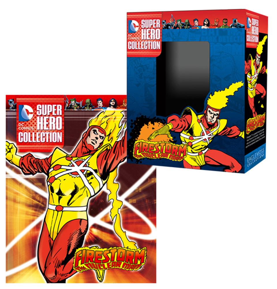 DC Comics Superhero Collection: Firestorm, The Nuclear Man  - Eaglemoss Publications Ltd