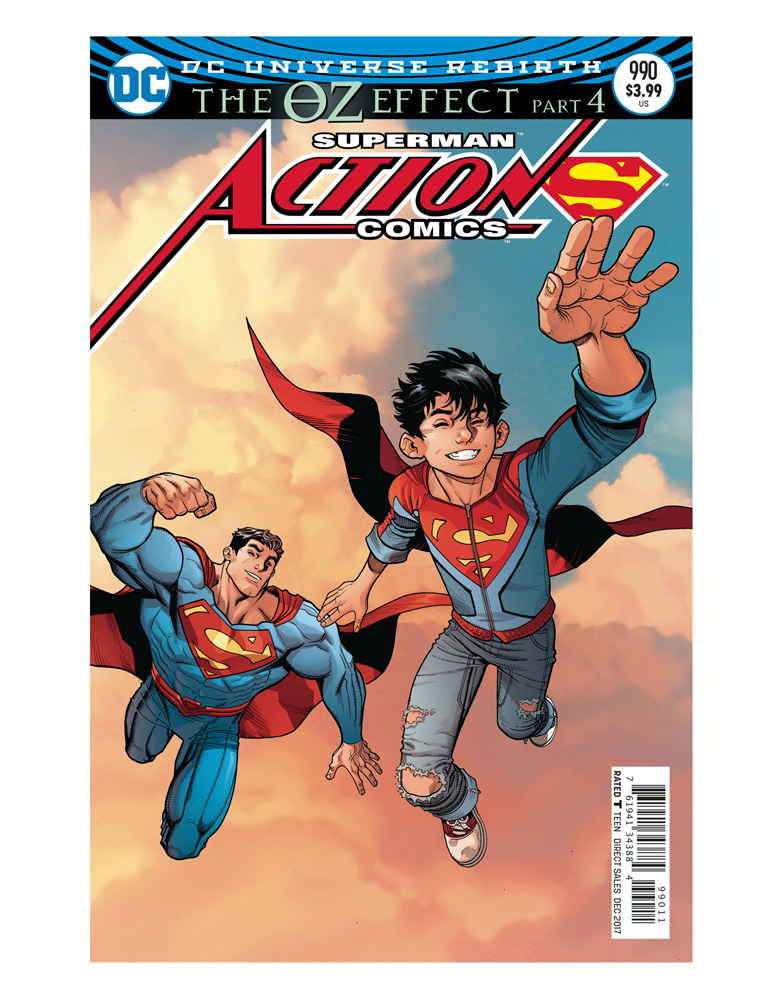 Image: Action Comics #990 (Oz Effect) (Lenticular cover - Nick Bradshaw)  [2017] - DC Comics