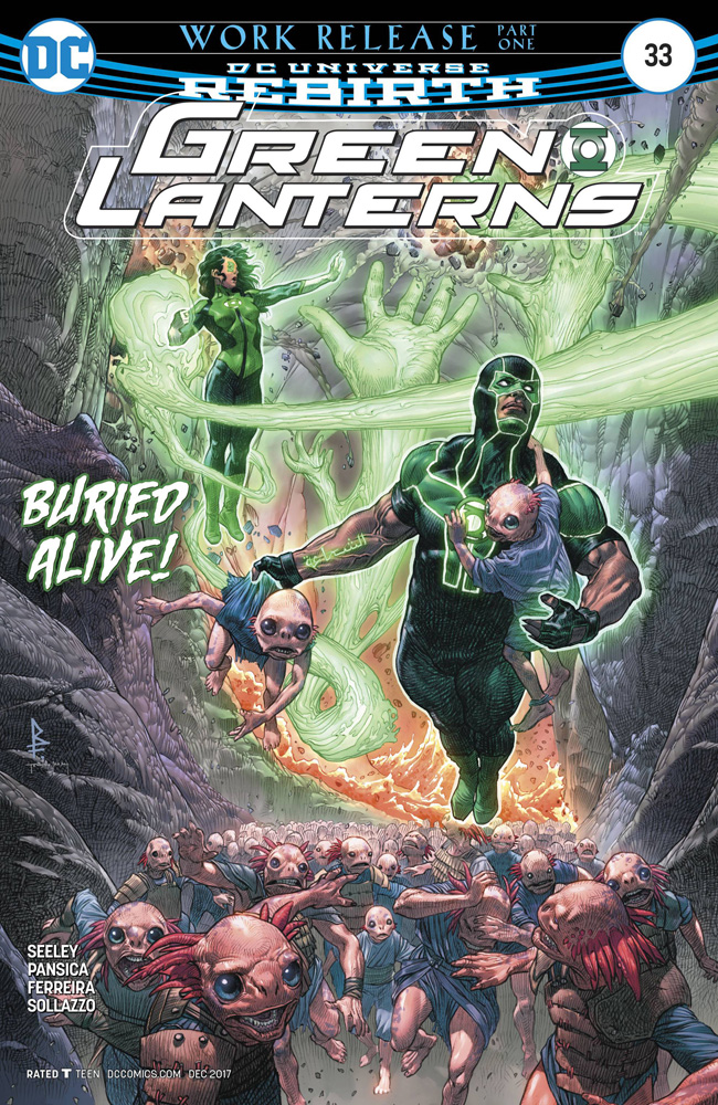 Image: Green Lanterns #33  [2017] - DC Comics