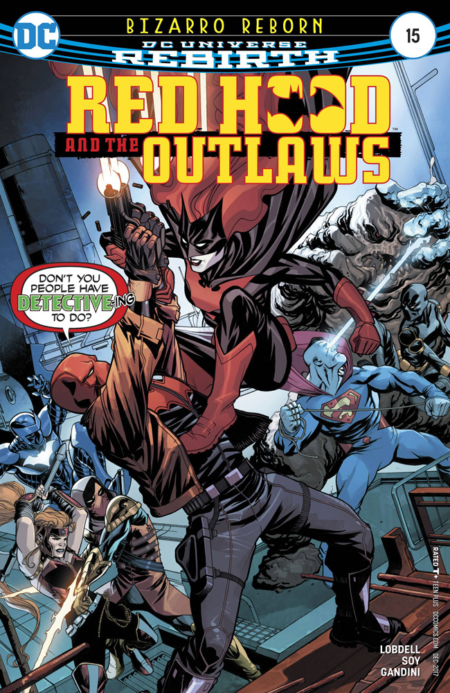 Image: Red Hood and the Outlaws #15  [2017] - DC Comics