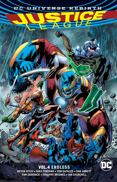 Image: Justice League Vol. 04: Endless  (Rebirth) SC - DC Comics