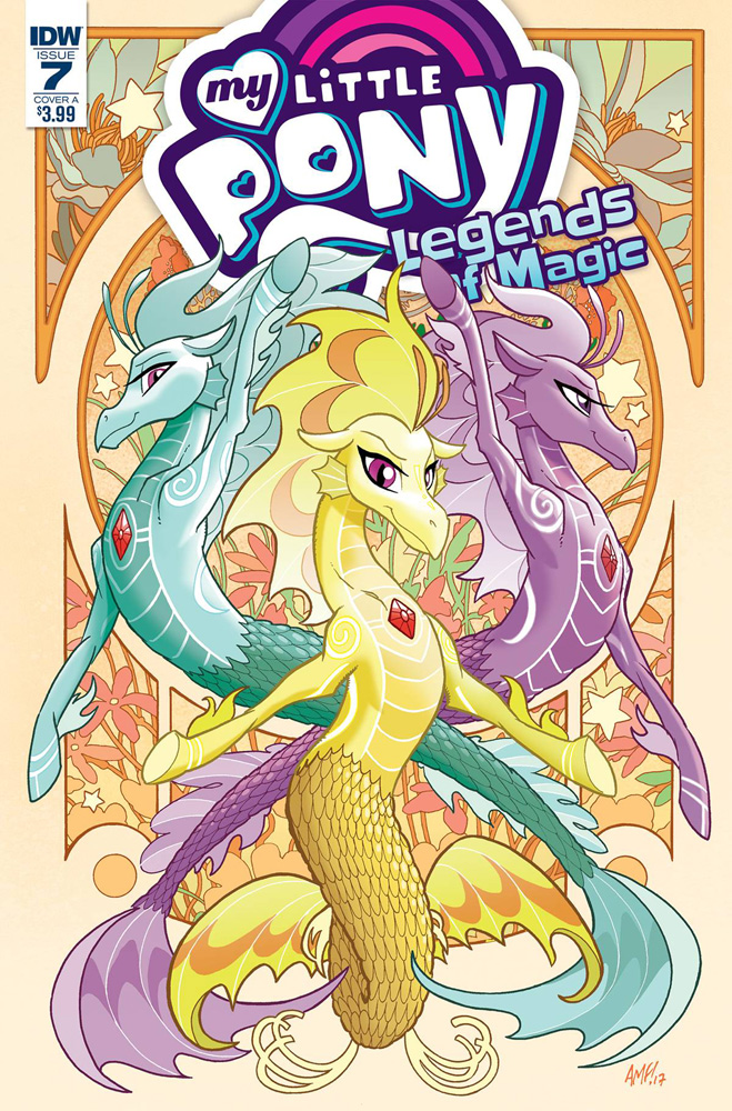 Image: My Little Pony: Legends of Magic #7 (cover A - Fleecs)  [2017] - IDW Publishing