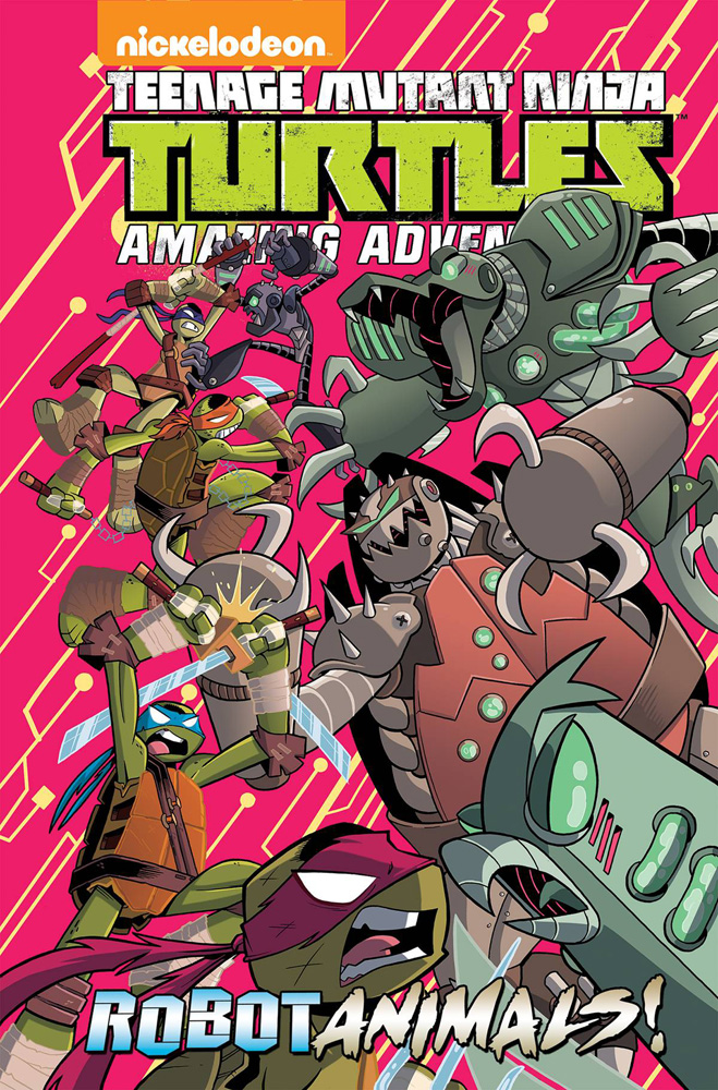 Image: Teenage Mutant Ninja Turtles Adventures: Robotanimals HC  - IDW Publishing