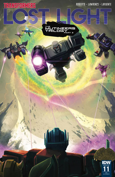 Image: Transformers: Lost Light #11 (incentive cover - Joana Lafuente) (10-copy)  [2017] - IDW Publishing