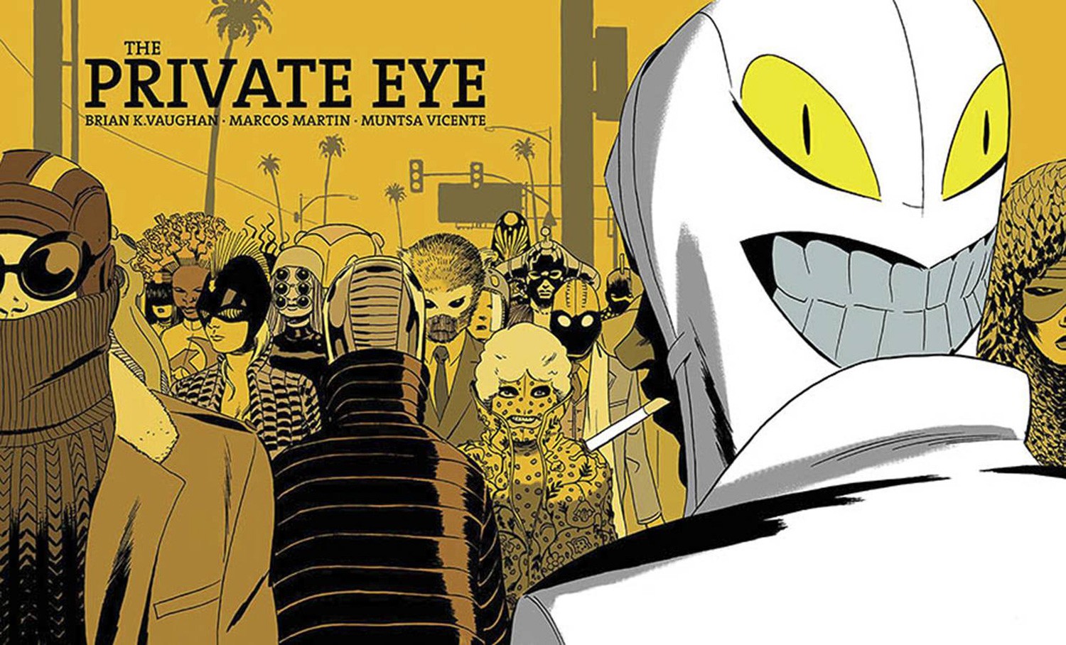 Image: Private Eye Deluxe Edition HC  - Image Comics