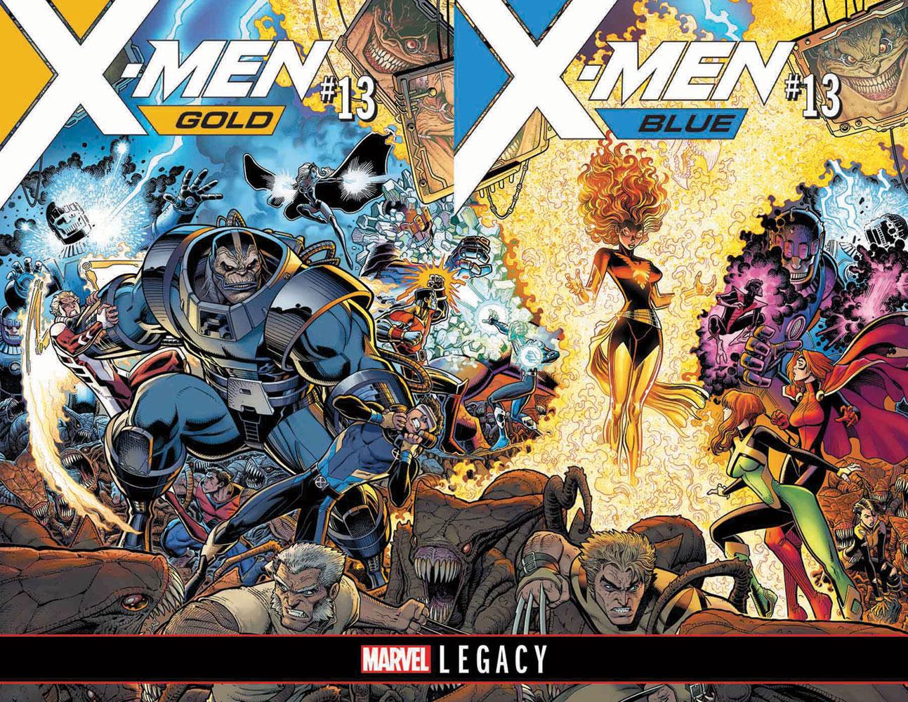 X-Men Blue #13 (Legacy)  [2017] - Marvel Comics